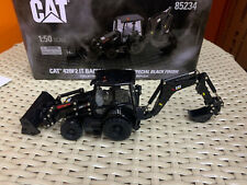 Cat 420F2 IT Backhoe Loader Special Black Finish 1/50 Diecast Masters DM85234