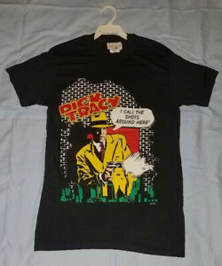 Dick Tracy 90/'s movie comic story t-shirt comfortable and good ALL SIZE S-5XL