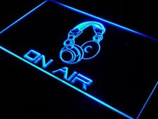 s013-b On Air Headphone Headset Studio Neon Light Sign