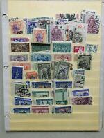 CMAU24) SPAIN Collection Civil War stamps & Cinderellas