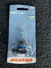 Sylvania Basic H11 55W One Bulb Head Light High Beam Replacement Lamp DOT Legal