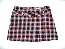 Mode für Mädchen Damen Minirock Röcke H&M Plisseerock Kariert Top Gr.170 # A