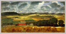 Wisconsin Landscape : John Steuart Curry : 1938 : Archival Quality Art Print