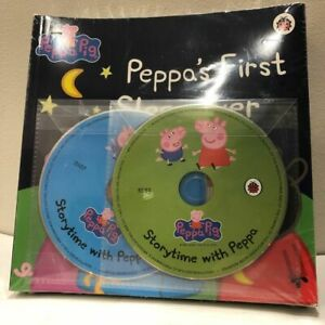 Peppa Pig x13 Books & x2 CD Collection NEW SEALED