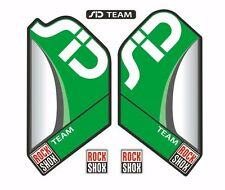 Rock Shox SID Team Mountain Bike Cycling Factory Style Decal Kit Sticker Green