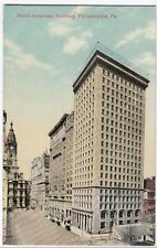USA; North American Building, Philadelphia. PA, PPC Unposted, c 1910's