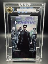 VHS The Matrix IGS 7.5-6.5 2nd Press 1999 - Collector's Holographic Slipcover