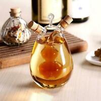 Küche Glas Ölflasche Mehrzweck Essig Und Öl Menage 2 In1 W1J5
