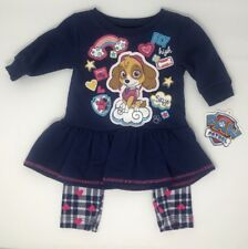 Paw Patrol Girls Top And  Legging Set Size 2T NWT (T19)