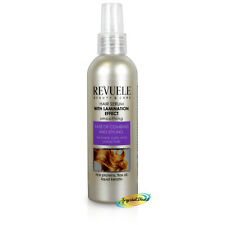 Revuele Smoothing Curly Unruly Hair Serum Rice Proteins Flax Oil Keratin 200ml