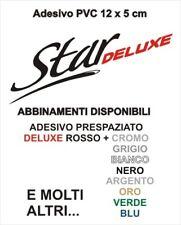Adesivo Targhetta LML STAR DELUXE PVC adesivi sticker scudo cofano VESPA kit