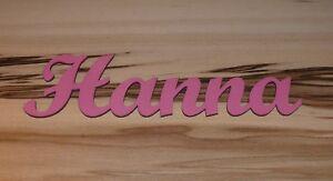 Schriftzug aus Holz - Holzbuchstaben - Wunschtext - Dekobuchstaben - Holzschrift