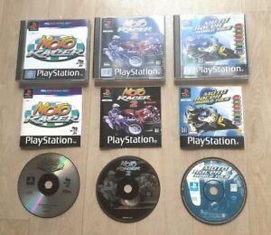 Moto Racer 1 & 2 Moto Racer World Tour - Sony Playstation 1 PS1 - Très Bon Etat