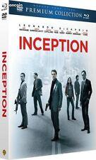 INCEPTION   Combo Blu-Ray  + DVD + livret  Premium Dicaprio NEUF sous blister