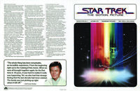 Star Trek The Motion Picture Original Paramount Newsletter #2 1979 Roddenberry