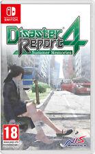 Disaster Report 4 Summer Memories Nintendo SWITCH NIS AMERICA