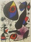 Joan Miro La Encre Ii Original Color Lithograph Art Surreal 1972 Modern Art
