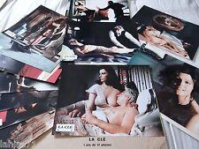 Stefania Sandrelli LA CLE ! Tinto Brass rare jeu 12 photos cinema sexy erotique