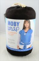 Moby Wrap Cotton Baby Carrier, Chocolate -(M)