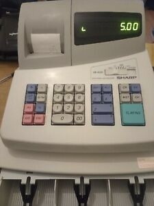 SHARP XE-A101 Electronic Cash Register Till - Fully Working Order & Ready to go