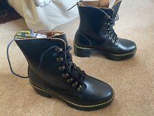 dr martens Leona Boot Brand New BNIB UK8 EU42 US10 Chunky Boot Docs Heeled