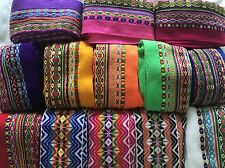 Colorful Thick Andean Ribbons.