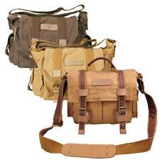 Vintage look Soft Shoulder Canvas Messenger Bag for DSLR w/lenses & accessories