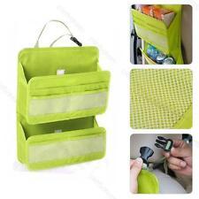 Car Back Seat Tidy Multi Pocket Pouch #P Organiser Storage Bag Travel Holder Hot