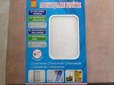 Moustiquaire De Fenêtre Porte 180 X 150 CM Couleur Blanc