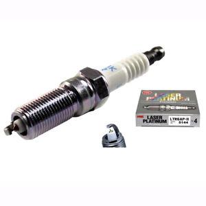 NGK LTR6AP-11 Spark Plugs for Holden Adventra VZ 3.6L V6 LE0 8/2004-7/2009 x 4