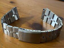 New 20mm SEIKO Fishbone Stainless Steel Bracelet Band For Bullhead Watch Z040S
