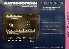 NEW Audio Control OVERDRIVE PLUS Concert Series 2-Channel 24dB-Gain Line Driver