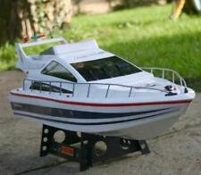 Uk Radio Remote Control 74cm Twin Propeller Ocean Power Boat Atlantic Yacht Rc
