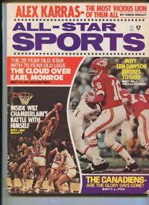 All Star Sports #1 Jan 1971 Alex Karras Earl Monroe Wilt Chamberlain   MBX100