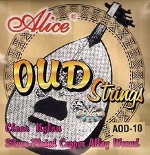 10 String Oud Stringhe Nylon ferita in rame argentato