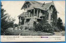 CPA: En Champagne - Le Château des Marquises / Guerre 14-18 / 1916