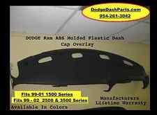 Dodge Ram Plastic Dash Cap Hard Cover Fits 99-02 SLT Or Sport  P/U Agate Color