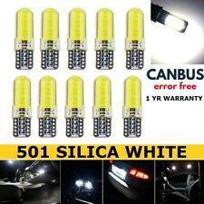 501 T10 W5W Coche LED Bombillas De Luz Lateral HAZ Xenon HID Blanco SMD Canbus Libre De Errores