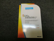 Microsoft Office Small Business 2007 Medialess License Kit Key Card