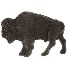 Bronze Bison Metal Wall Decor 5 x 7