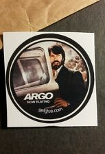 """ARGO BEN AFFLECK CAR DOOR PHOTO MOVIE STILL SMALL 1.5"""" GETGLUE GET GLUE STICKER"""