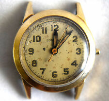 14K Solid Gold Case Longines Watch For Parts