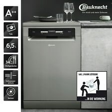 Geschirrspüler Freistehend A++ BAUKNECHT BFO 3T323 P6.5M X 60cm 14 Maßgedecke