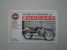 advertising Pubblicità 1977 MOTO ZUNDAPP GS 125