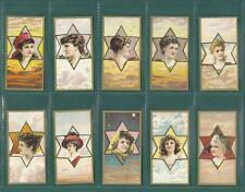 BEAUTIES  -  SET OF 25 - ALBERT BAKER & CO. ' STAR  GIRLS ' CARDS  -  REPRINTS