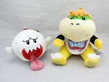 Boo Ghost and Bowser Jr.Koopa - X'mas Super Mario Brothers Set of 2 Plush Doll