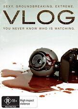 VLOG - Thriller / Horror / Violence - Brooke Marks, Trevor Trout - NEW DVD