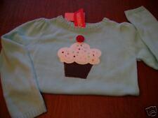 NWT Gymboree Cupcake Cutie sweater 8 cupcakes cupcake sprinkles  SWEET