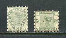 Great Britain Victoria Mint Hinged Scott#104/05 -Scott Value $1175.00