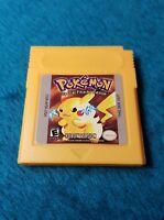 Pokemon Yellow Pikachu Generic Version Game For Nintendo Game Boy Mint Condition